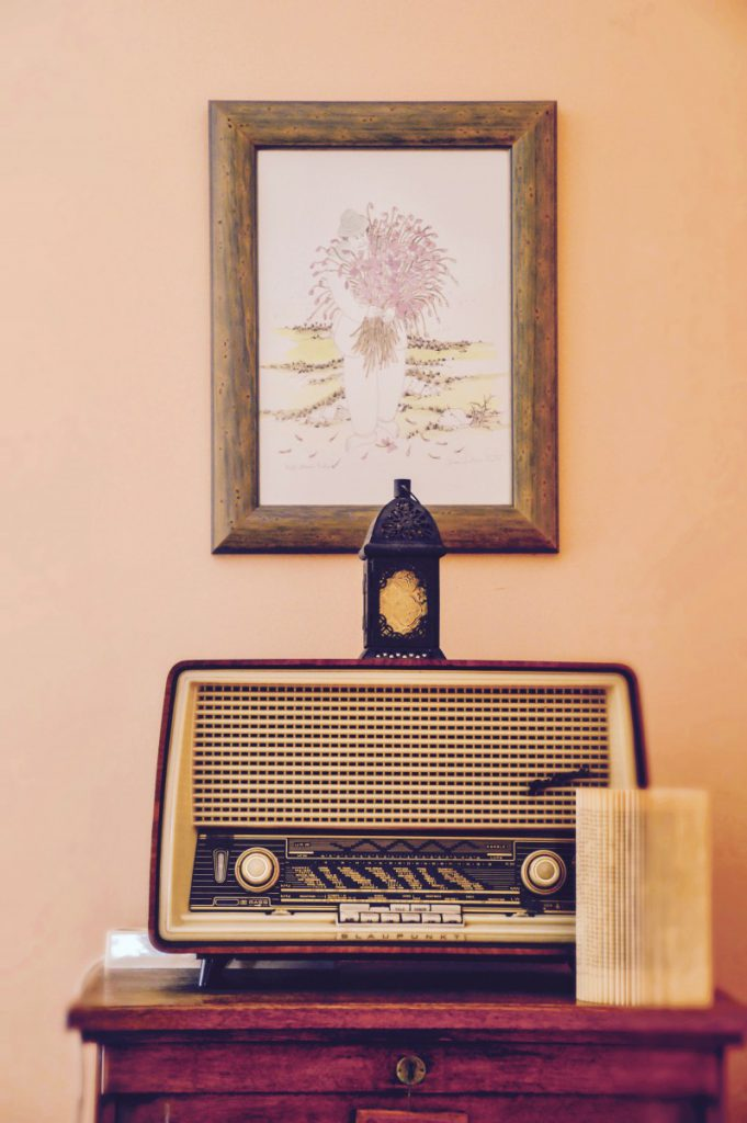 Repro Eko vintage radio